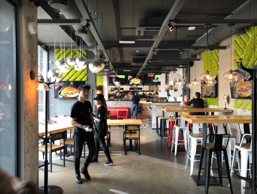 Стильное и вкусное заведение Black Star Burger в Краснодаре