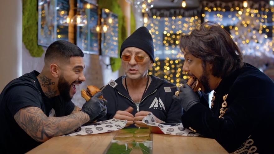 Тимати, Лепс и Киркоров обедают